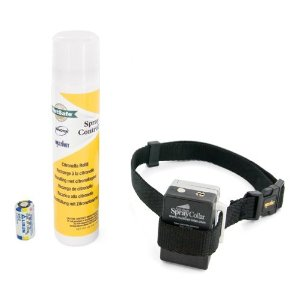 citronella spray collar